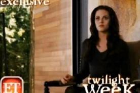 Amanecer parte 2: Bella Cullen en sus primeros días como vampiresa