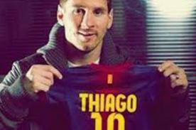 Barcelona: Lionel Messi recibe afectuosos saludos por nacimiento de Thiago