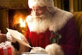 Navidad 2012: Escríbele una a carta a Papa Noel por internet