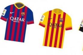Estos serán los uniformes oficiales y de entrenamiento para el Barza