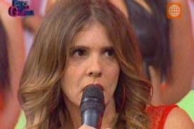 Video: Johanna San Miguel regresó a Esto es Guerra