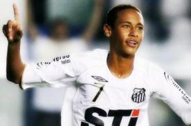 Neymar firmó por el Real Madrid en el 2006, pero...