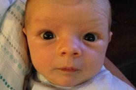 Fergie presume los ojos de su hijo con nueva foto