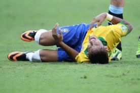 Neymar abandona entrenamientos de Brasil por dolor en la espalda