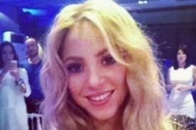 Shakira se subasta para ayudar a su fundación 'Pies Descalzos'