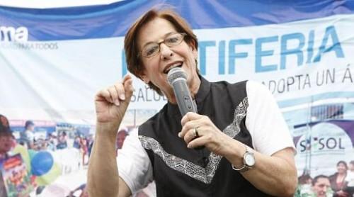 Susana Villarán emitió su voto en las Elecciones Municipales 2013 - VIDEO