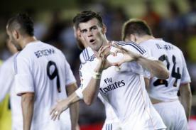 Video: Real Madrid goleó 4-0 a Valladolid con hat trick de Gareth Bale
