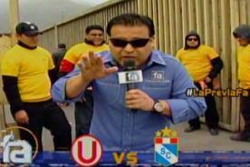 Video: Juan Carlos Orderique y su divertida #LaPreviaFA en el Rímac