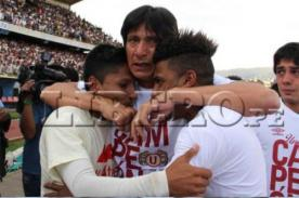Universitario Campeón: El llanto de Ángel Comizzo con sus pupilos (Video)