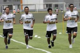 Sporting cristal inició pretemporada de cara a la Copa Libertadores