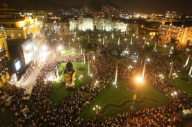 479° aniversario de Lima: Gran Serenata de Lima arranca hoy viernes 17