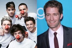 ¿One Direction en Glee? Matthew Morrison propone un cameo con la banda