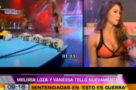 EEG: Vanessa Tello y Melissa Loza son sentenciadas en el reality - Video