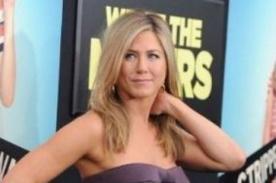 Jennifer Aniston estaría subiendo de peso por la culpa de su novio