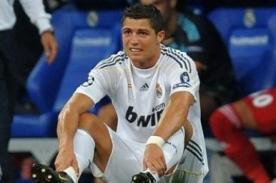 Cristiano Ronaldo no jugaría en la final de la Copa Rey por lesión