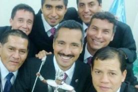 Final Copa Inca 2014: Selfie de los árbitros de la final Alianza vs San Martìn