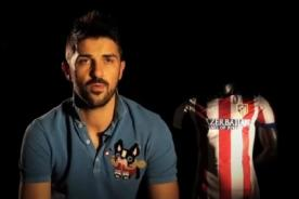 David Villa se despide del Atlético Madrid a través de un emotivo video