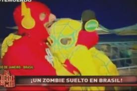 La Noche es Mía: ¡Loco Wagner muerde a todo el mundo en Brasil! [Video]