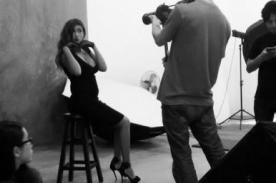 ¡Con todo y pancita! Tilsa Lozano muestra cómo se posa embarazada [FOTO]