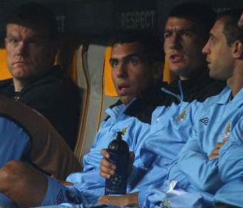Fútbol inglés: Carlos Tévez  fue suspendido por el Manchester City