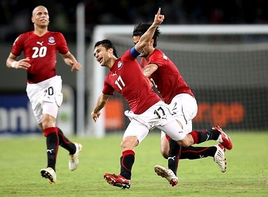 Copa de África 2010: Egipto golea 4-0 a la selección de Argelia