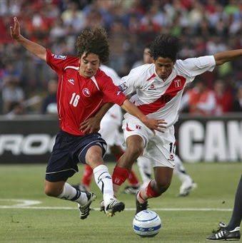 Gol del Chile vs Perú (1-0) - Minuto a Minuto - Copa América 2011