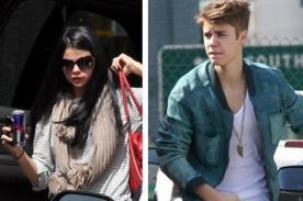 Selena Gomez y Justin Bieber pasan la noche juntos e intercambian prendas