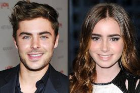 Zac Efron y Lily Collins finalizan breve romance