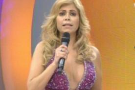 Gisela Valcárcel lució gran escote en Operación Triunfo
