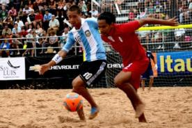 Goles del Perú vs Paraguay (1-4) - Sudamericano Beach Soccer Tahití 2013 - Video