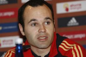Andres Iniesta: 'Siento al Barcelona favorito para llegar a la final'