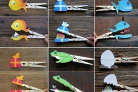 Creatividad: Ganchos para colgar ropa ahora son divertidas marionetas