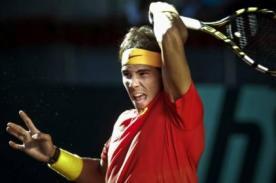 Rafael Nadal mantiene a España en grupo Mundial de Copa Davis