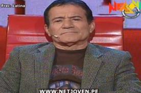 Miguel Barraza perdió en El Valor de la Verdad por negar que usa viagra