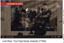 YouTube Music Awards: Show recibe fuertes críticas en Twitter