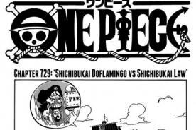 One Piece 729: Lee aquí el capítulo Shichibukai Doflamingo vs Shichibukai Law
