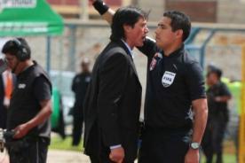 Universitario: Ángel Comizzo fue suspendido por tres fechas