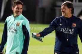 Gerardo Martino: Veo a Lionel Messi con una mirada asesina