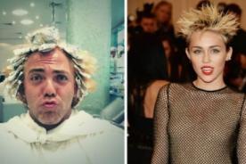 Miley Cyrus inspira a Cristian Castro para nuevo cambio de look - Fotos