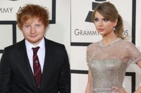 Grammys: Ed Sheeran revela que vestido de Taylor Swift se rompió