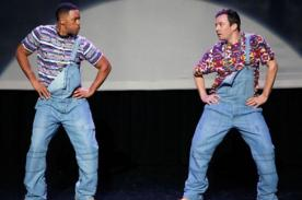 Jimmy Fallon y Will Smith escenifican la evolución del Hip hop - VIDEO