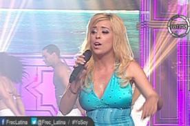 Yo soy: Presentación de 'Britney Spears' convenció al jurado - VIDEO