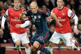 En vivo por Fox Sports: Bayern Munich vs Arsenal (Champions League)