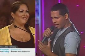 Yo soy: Katia Palma queda rendida ante Romeo Santos - Video