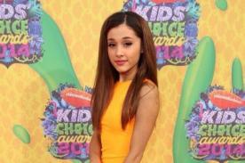 Ariana Grande triunfa en los Kids Choice Awards como Mejor Actriz en TV