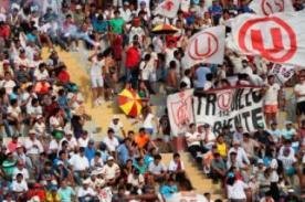 Universitario de Deportes, Sporting Cristal y Alianza Lima jugarán sin barras organizadas