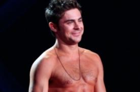 Fotos: Lo mejor de Zac Efron con el torso desnudo en los MTV Movie Awards