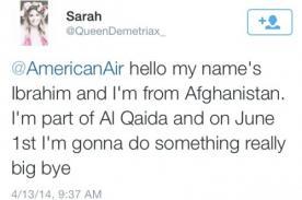 ¡Insólito! Joven es arrestada por falsa amenaza a American Airlines