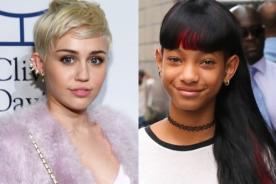 Willow Smith le pide a Miley Cyrus hacer un dueto juntas