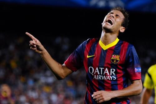 Liga BBVA: Presionan a Neymar para que no enfrente a Atlético de Madrid